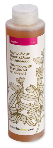 Šampon s mastichovým olejem a olivovým olejem 250 ml