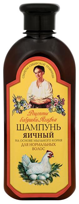 Babushka Agafia Šampon pro normální vlasy s vaječným proteinem 350 ml