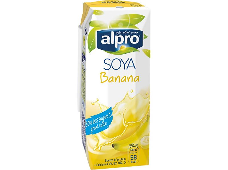 Alpro Sójový nápoj banán 250ml