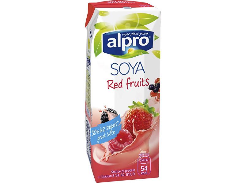 Alpro Sójový nápoj červené ovoce 250ml
