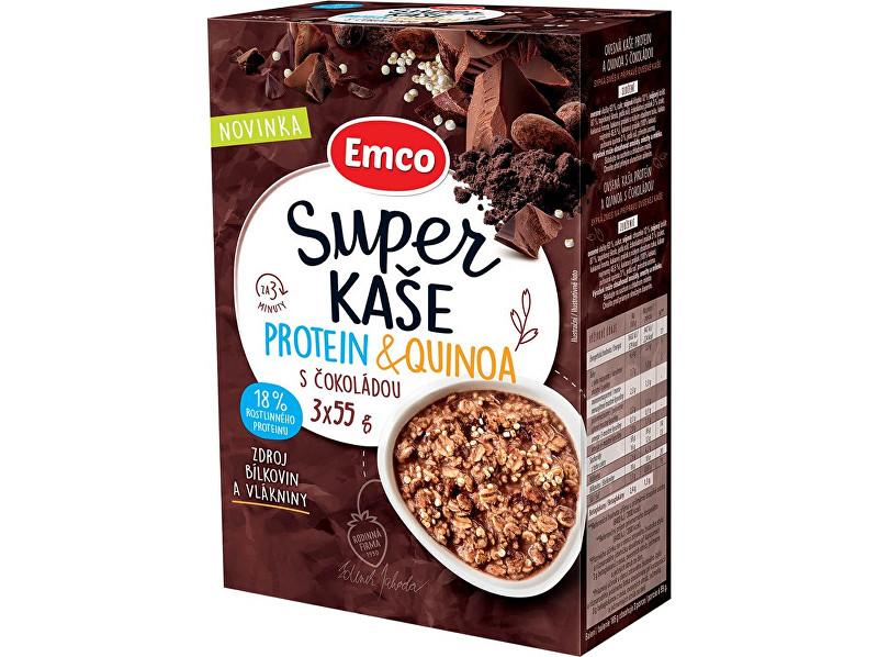 Zobrazit detail výrobku EMCO Super kaše Protein & quinoa s čokoládou 3x55g
