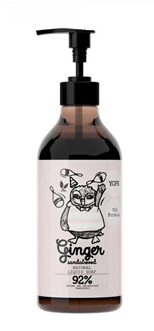 Zobrazit detail výrobku Yope Tekuté koupelnové mýdlo s TGA formulí Zázvor a santalové dřevo 500ml