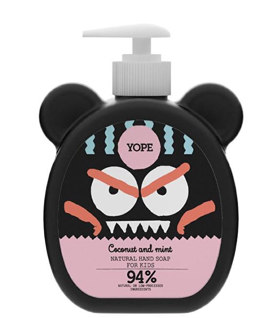 Zobrazit detail výrobku Yope Tekuté mýdlo na ruce pro děti s kokosem a mátou 400 ml - SLEVA - KRÁTKÁ EXPIRACE