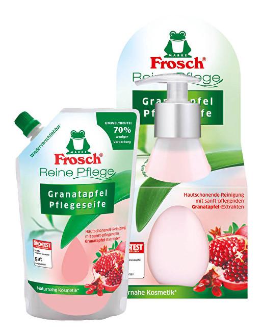 Zobrazit detail výrobku Frosch Tekuté mýdlo s granátovým jablkem v dávkovači 300 ml + náhradní náplň 500 ml