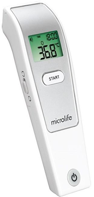 Zobrazit detail výrobku Microlife Teploměr NC 150 digitální čelní bezkontaktní