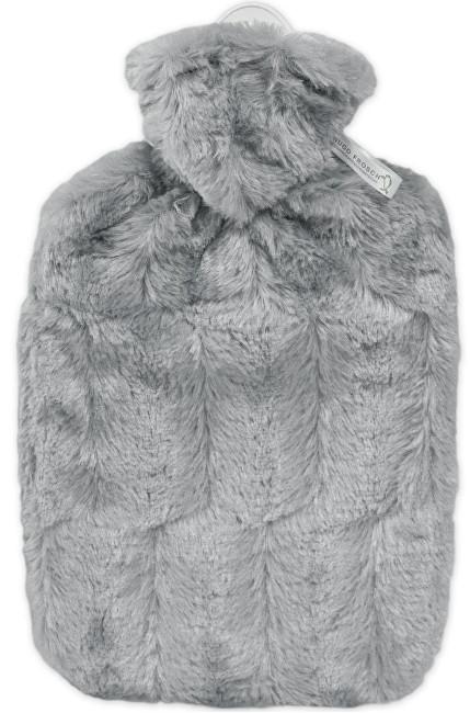 Zobrazit detail výrobku Hugo-Frosch Termofor Classic s obalem z umělé kožešiny - šedý s podšívkou