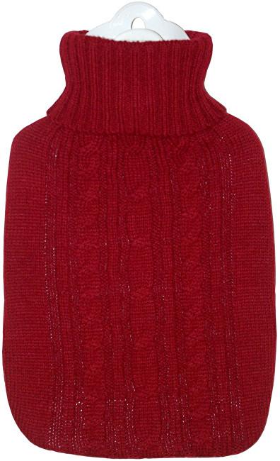 Hugo Frosch Classic termofor s červeným pleteným obalem