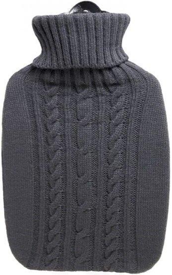 Termofor Classic s pleteným obalem - šedý