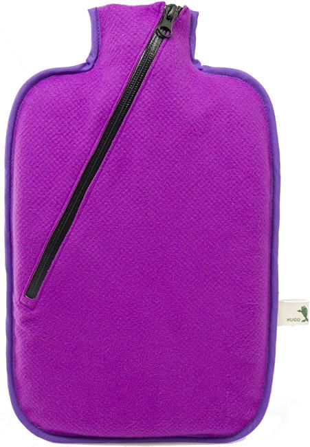 Termofor Eco Classic Comfort se softshellovým obalem na zip - fialový