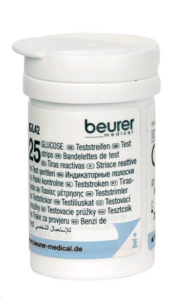 Zobrazit detail výrobku Beurer Testovací proužky 461.15