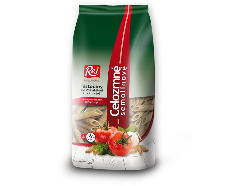 Zobrazit detail výrobku Rej Těstoviny PENNE - celozrnná semolina 400g