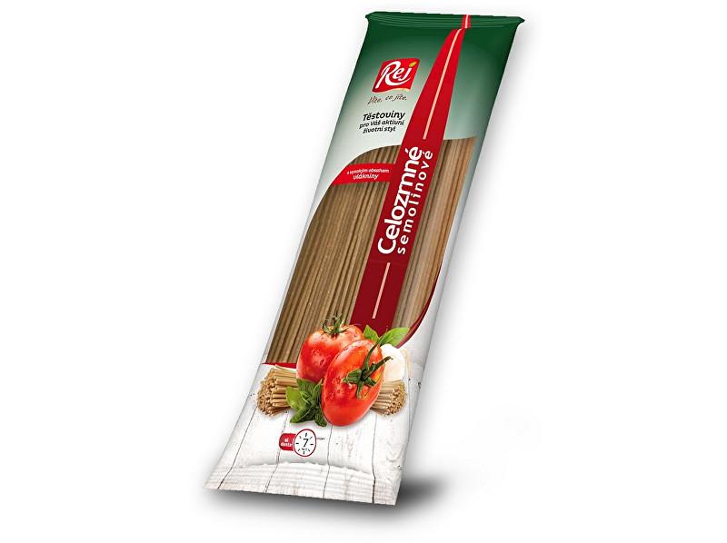 Zobrazit detail výrobku Rej Těstoviny SPAGHETTI - celozrnná semolina 400g