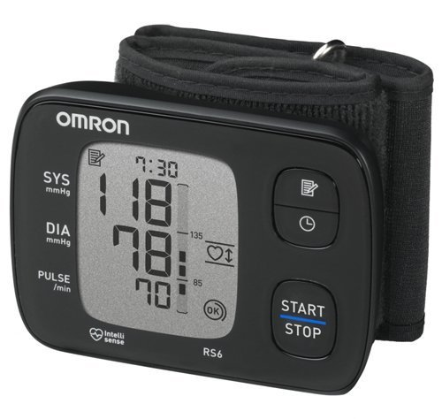 Zobrazit detail výrobku Omron Tonometr digitální RS6 na zápěstí - SLEVA - rozbaleno, bez baterií