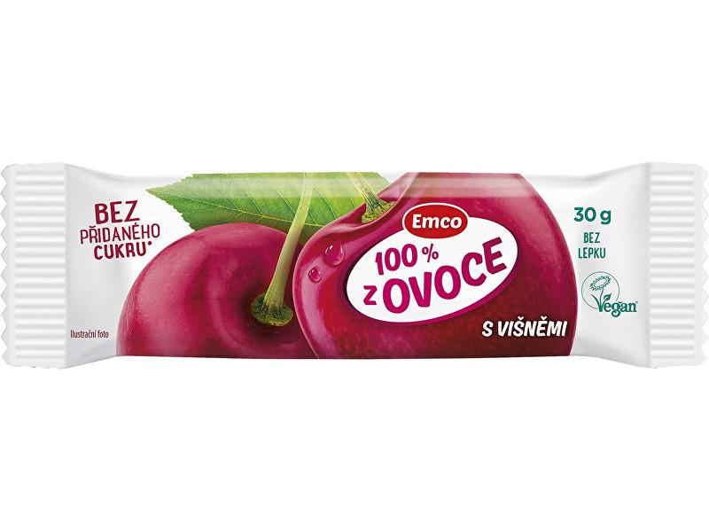 EMCO Tyčinka 100% ovoce s višněmi 30g