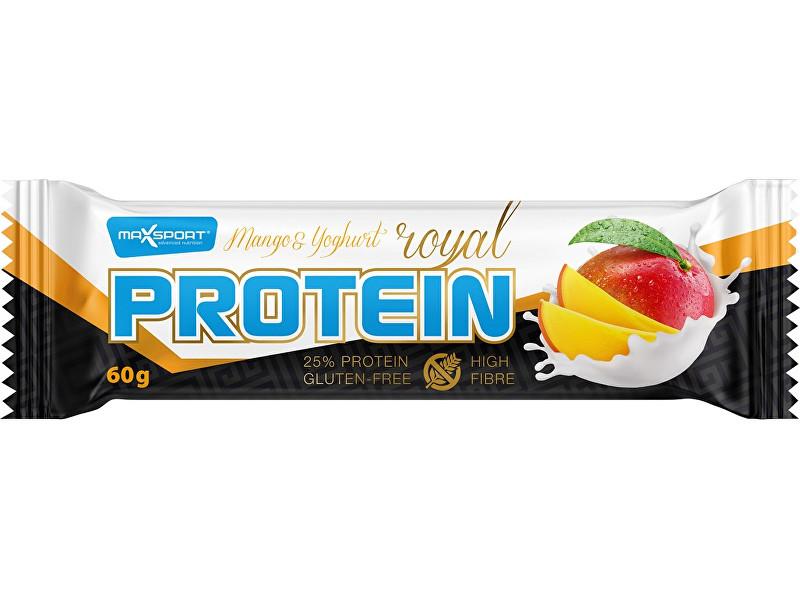 Zobrazit detail výrobku Max sport Tyčinka proteinová Royal protein Mango Yoghurt 60g