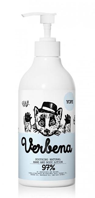 Zobrazit detail výrobku Yope Utišující tělové mléko Verbena 500 ml