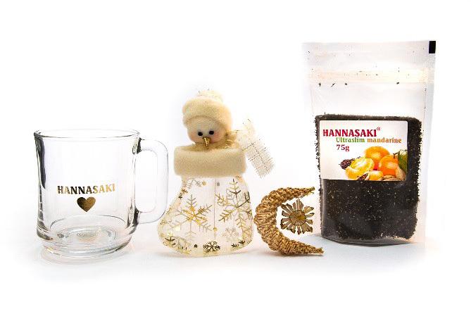 Zobrazit detail výrobku Phoenix Division Čajová směs HANNASAKI Ultraslim Mandarine 75 g a hrníček Hannasaki