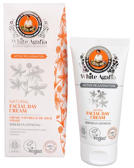 White Agafia Active Rejuvenation přírodní denní pleťový krém omlazující 50+ 50 ml