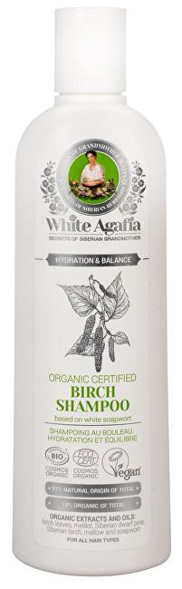 White Agafia březový šampon hydratace a rovnováha 280 ml