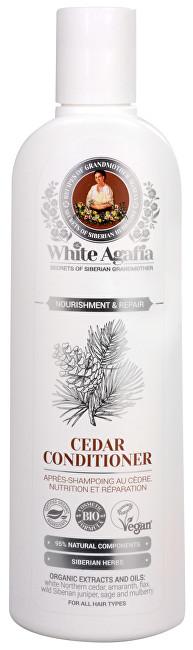 White Agafia cedrový kondicionér výživa a obnova 280 ml
