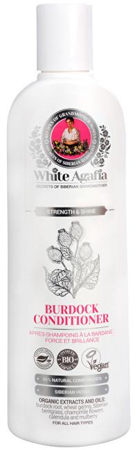 White Agafia lopuchový kondicionér síla a lesk 280 ml