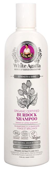 White Agafia lopuchový šampon síla a lesk 280 ml