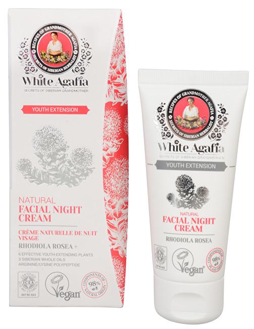 White Agafia Youth Extension přírodní noční pleťový krém 35 - 50 let 50 ml