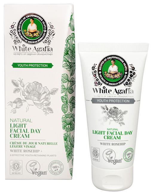 White Agafia Youth Protection přírodní denní pleťový krém do 35 let 50 ml