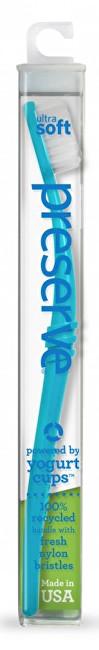 Zubní kartáček ultra soft - azurový