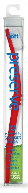Zobrazit detail výrobku Preserve Zubní kartáček ultra soft - červený
