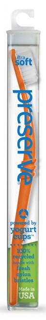Zubní kartáček ultra soft - oranžový