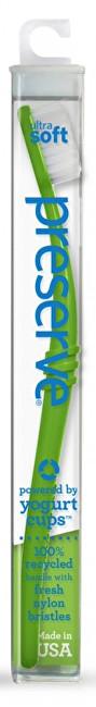 Zubní kartáček ultra soft - zelený