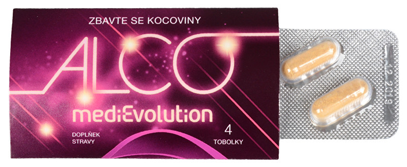 MediEvolution Alco Evolution 4 kapsuly