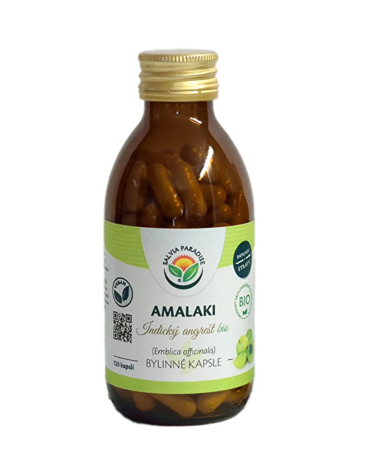 Zobrazit detail výrobku Salvia Paradise Amalaki kapsle 120 ks