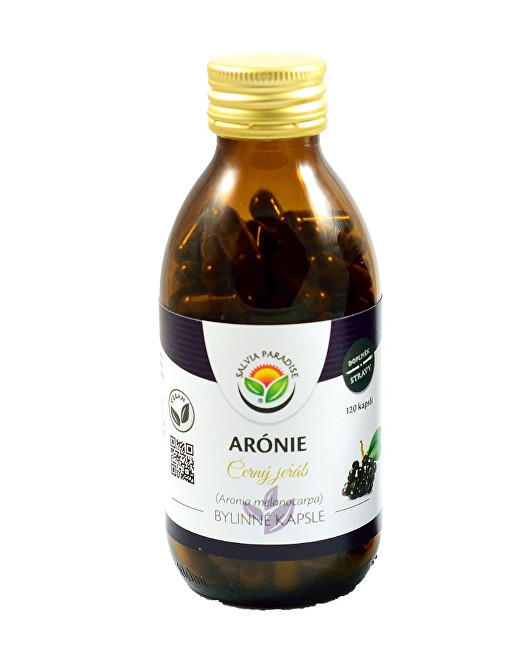 Salvia Paradise Arónie - Černý jeřáb kapsle 120 ks