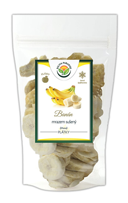 Salvia Paradise Banán plátky mrazem sušené 40 g