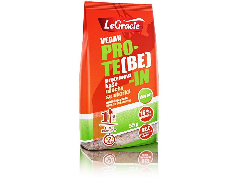 Zobrazit detail výrobku LeGracie Bezlepková kaše PRO-TE(BE)-IN ořechy se skořicí 55g