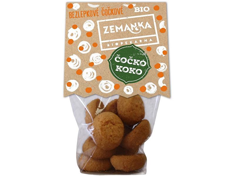 Biopekárna Zemanka Bio čočkové čoko-kokosky bezlepkové 100g