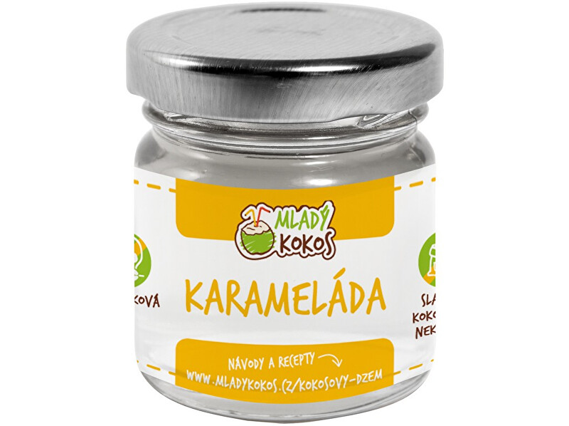Zobrazit detail výrobku Mladý kokos Bio karameláda 50g