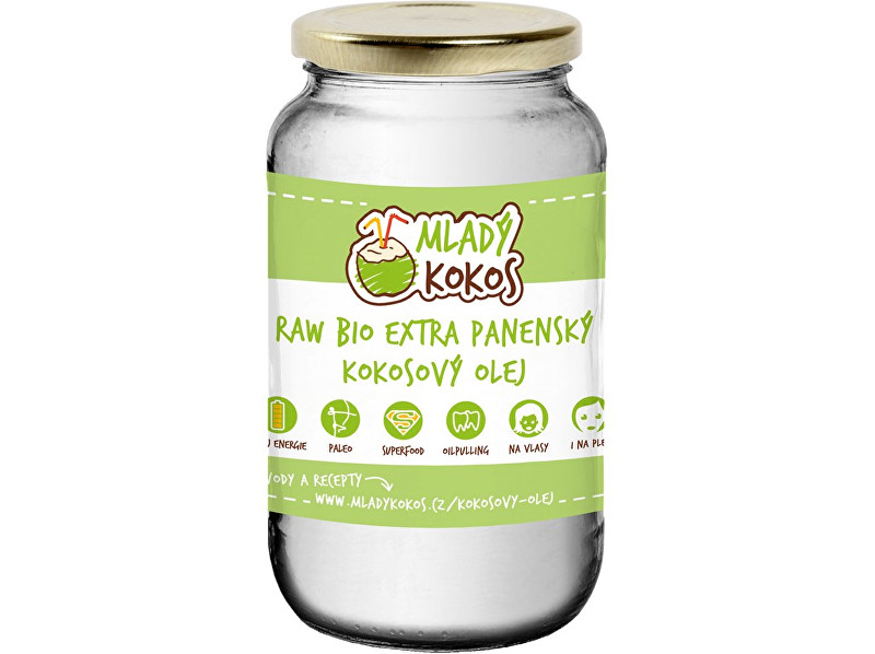 Zobrazit detail výrobku Mladý kokos Bio kokosový olej 400ml extra