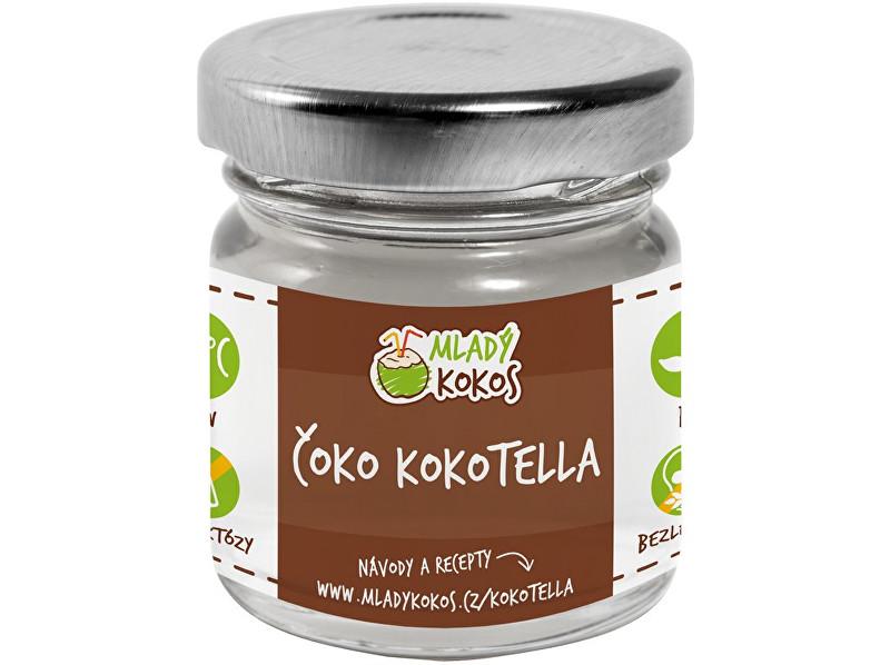 Mladý kokos Bio kokotella čoko 50g