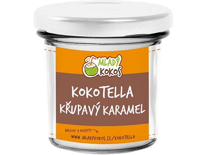 Mladý kokos Bio kokotella karamel crunchy 150g