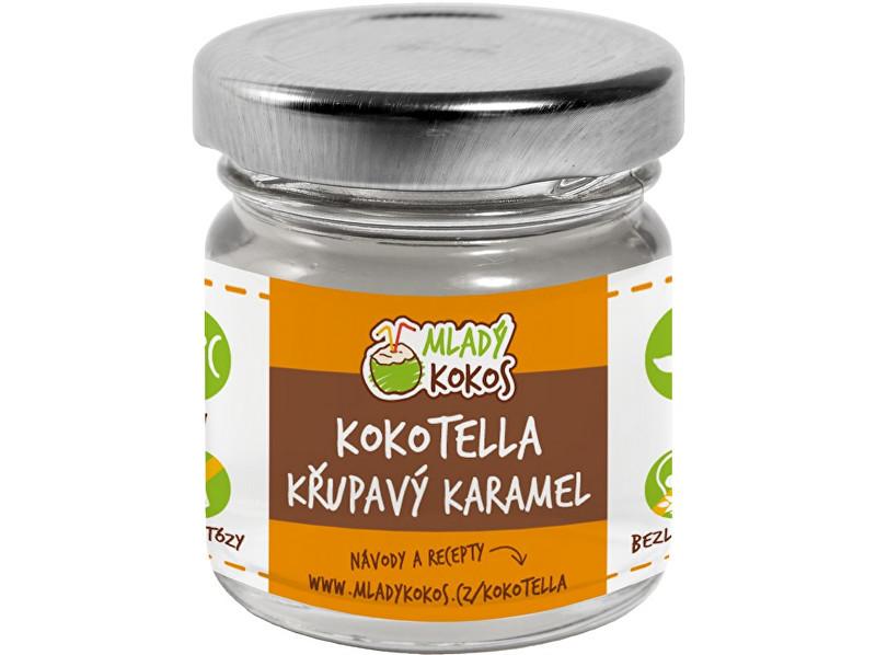 Mladý kokos Bio kokotella karamel crunchy 50g