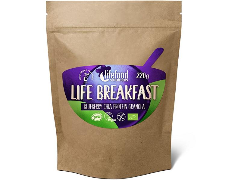 Zobrazit detail výrobku Lifefood Bio Life breakfast Granola borůvka s chia semínky 220g