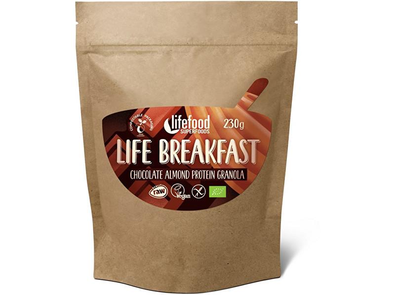 Zobrazit detail výrobku Lifefood Bio Life breakfast Granola čokoládová s mandlemi 230g