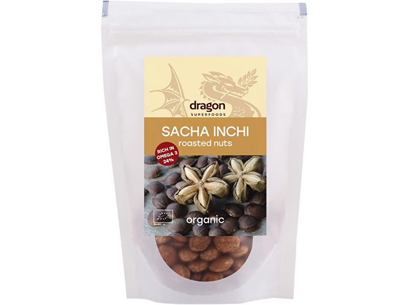 Dragon superfoods Bio ořechy Sacha Inchi pražené 150g