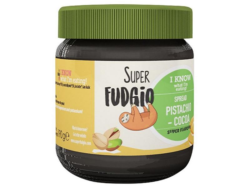 Zobrazit detail výrobku Super Fudgio Bio Pistáciovo kakaový krém 190g