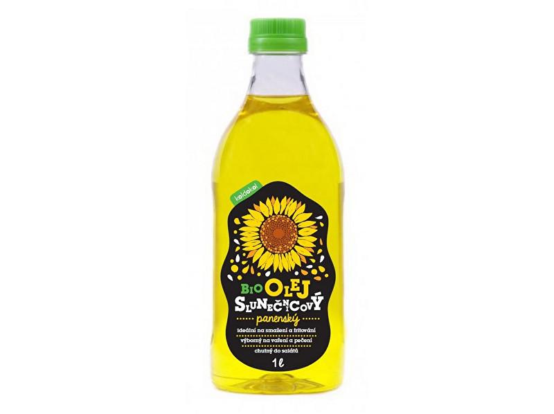 Zobrazit detail výrobku Koldokol Bio slunečnicový olej panenský 1 l