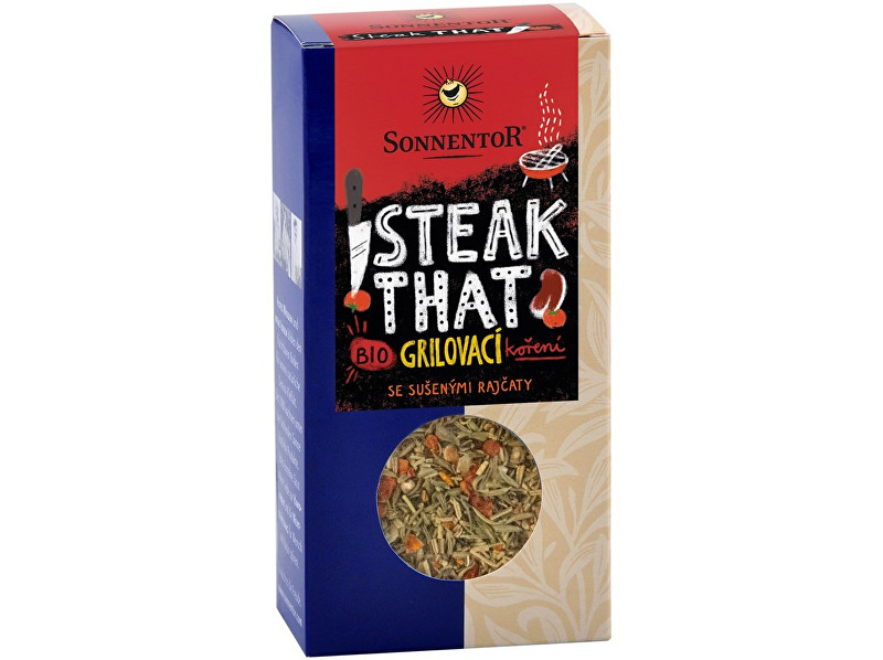 Sonnentor Bio Steak That - grilovací koření na steaky 50g