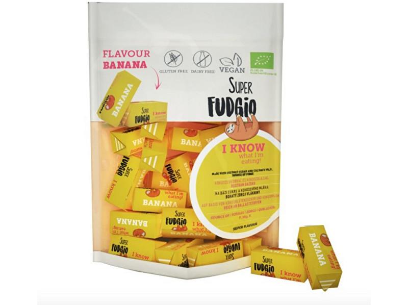 Zobrazit detail výrobku Super Fudgio Bio Veganské karamely - banán 150g